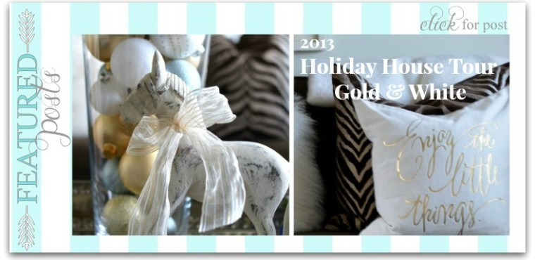 slide-gold and white holiday ho