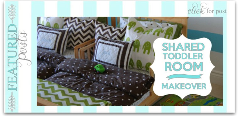 shared toddler room makeover