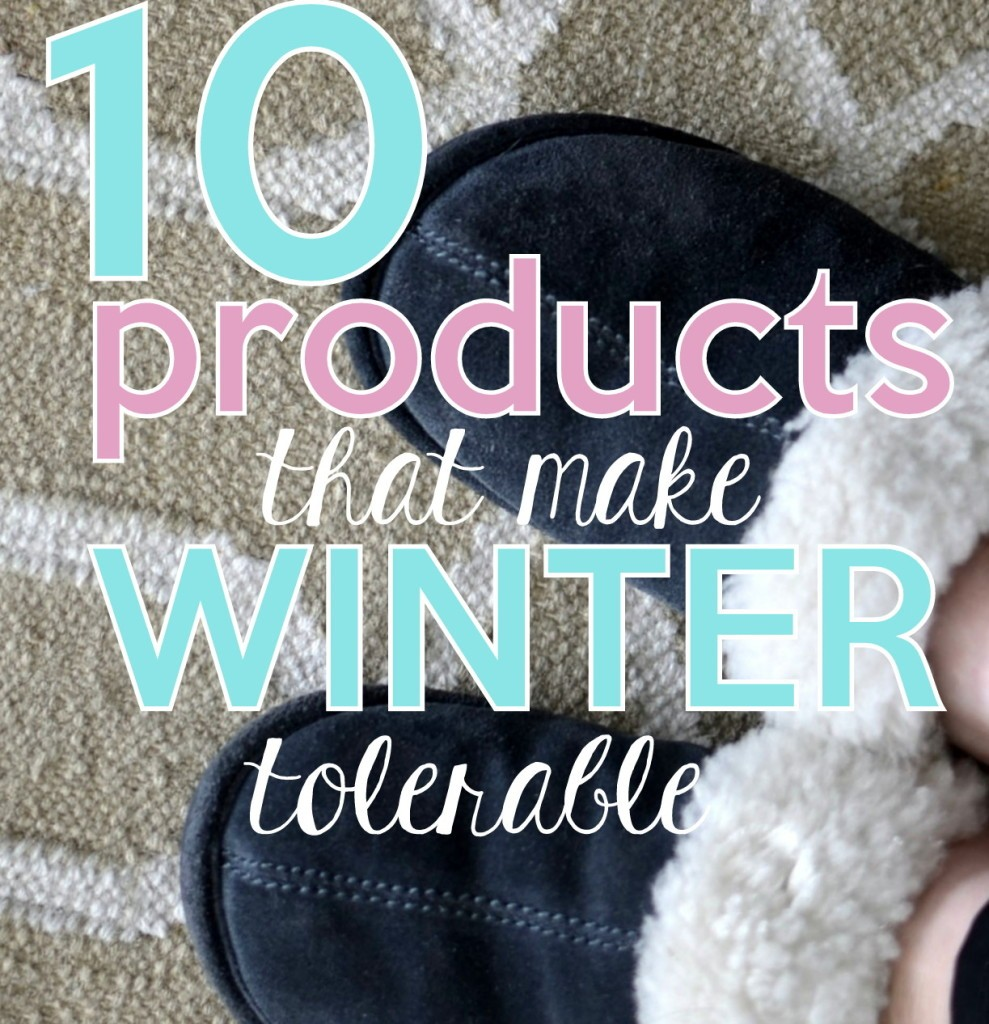 10 Winter products
