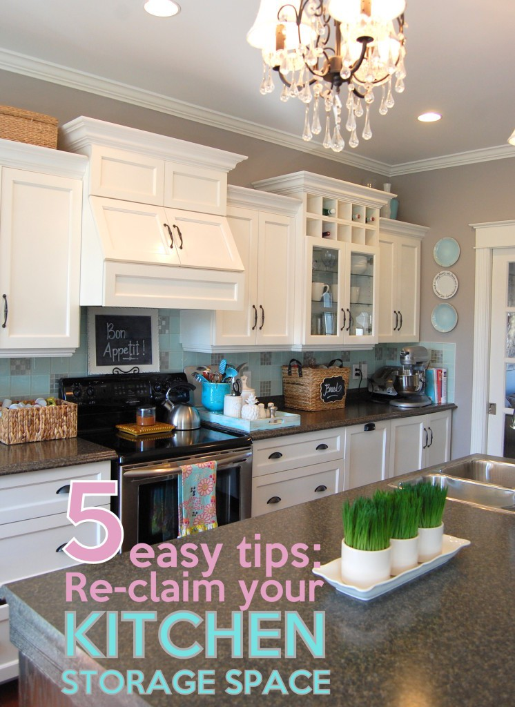 More Kitchen storage space - 5 tips