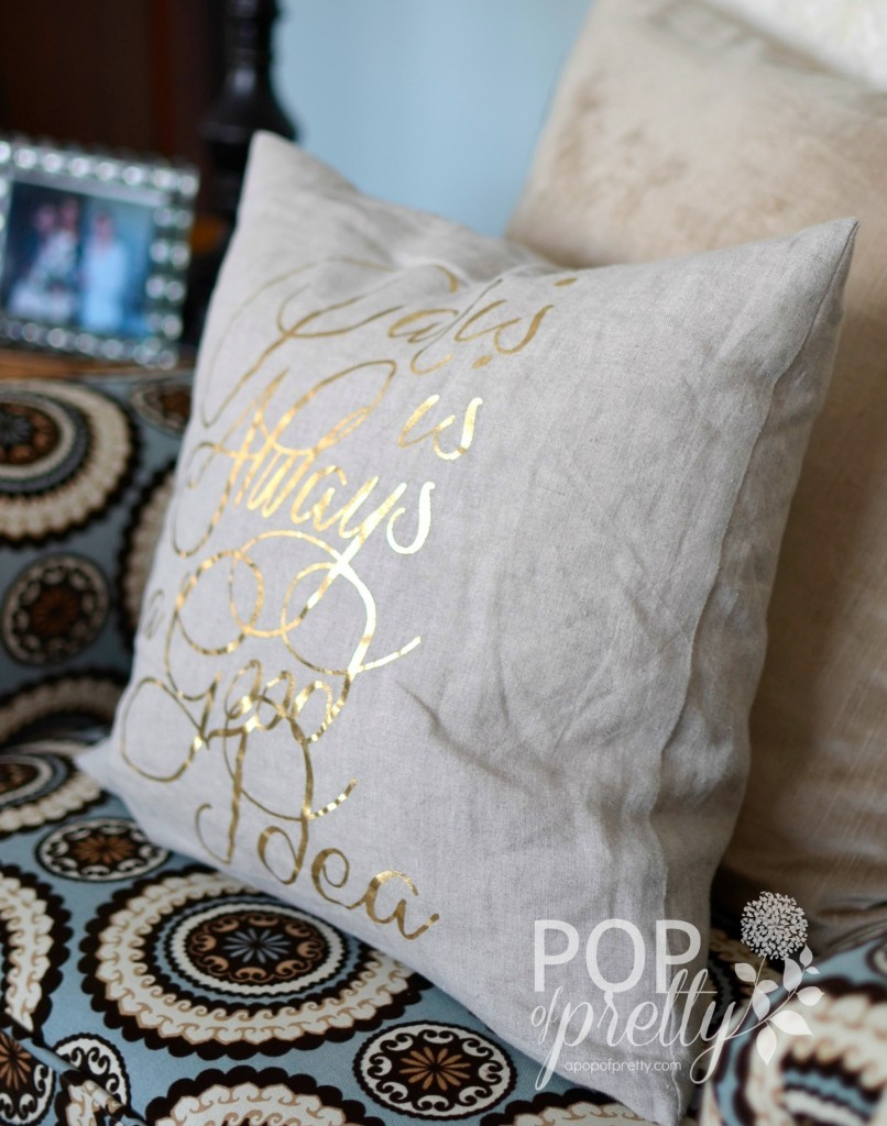 home accessories - pillow Paris is Always a Good Idea