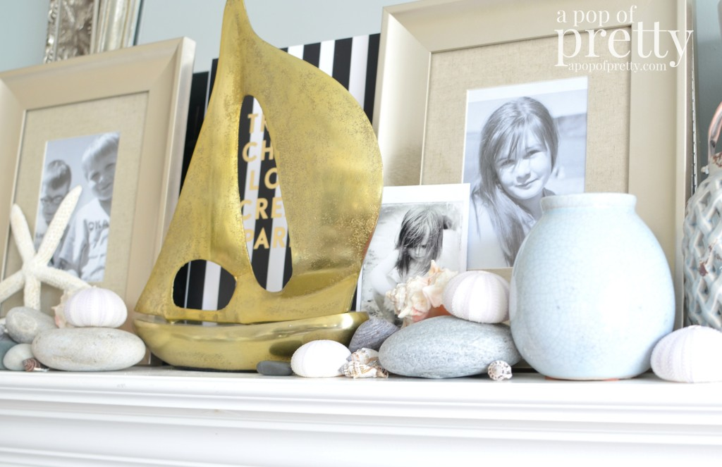 Beach Summer Mantel Decor 7