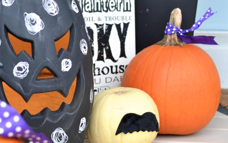 7 Easier than Easy No Carve Pumpkin Ideas