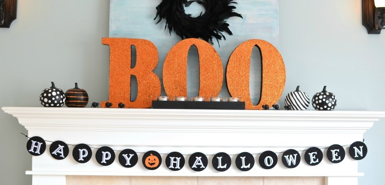 Kid Friendly halloween decorating