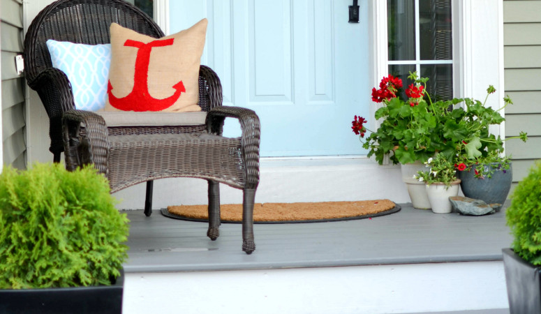 Curb Appeal Tip: Use a Solid Stain