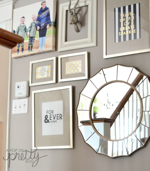 Canadian Bloggers Home Tours - Gallery Wall