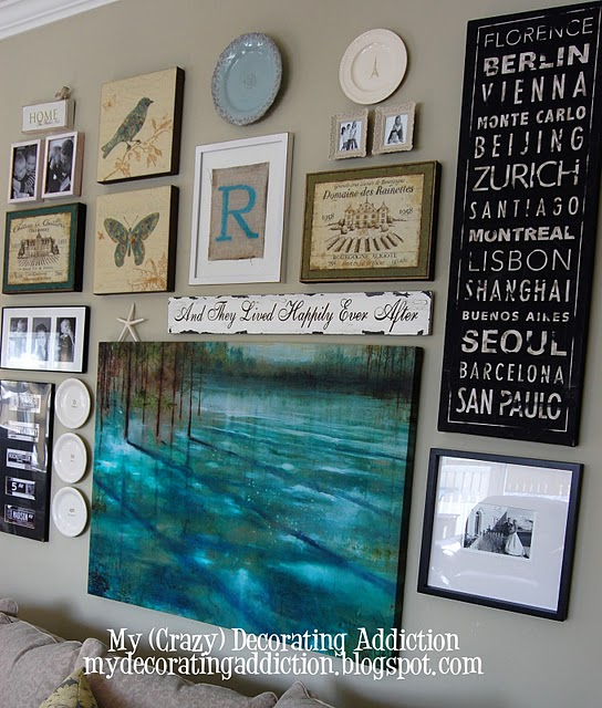 The Evolution of a Gallery Wall!