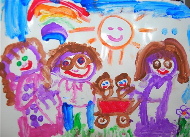 Every child's an artist: Creative ways to display kids' art!