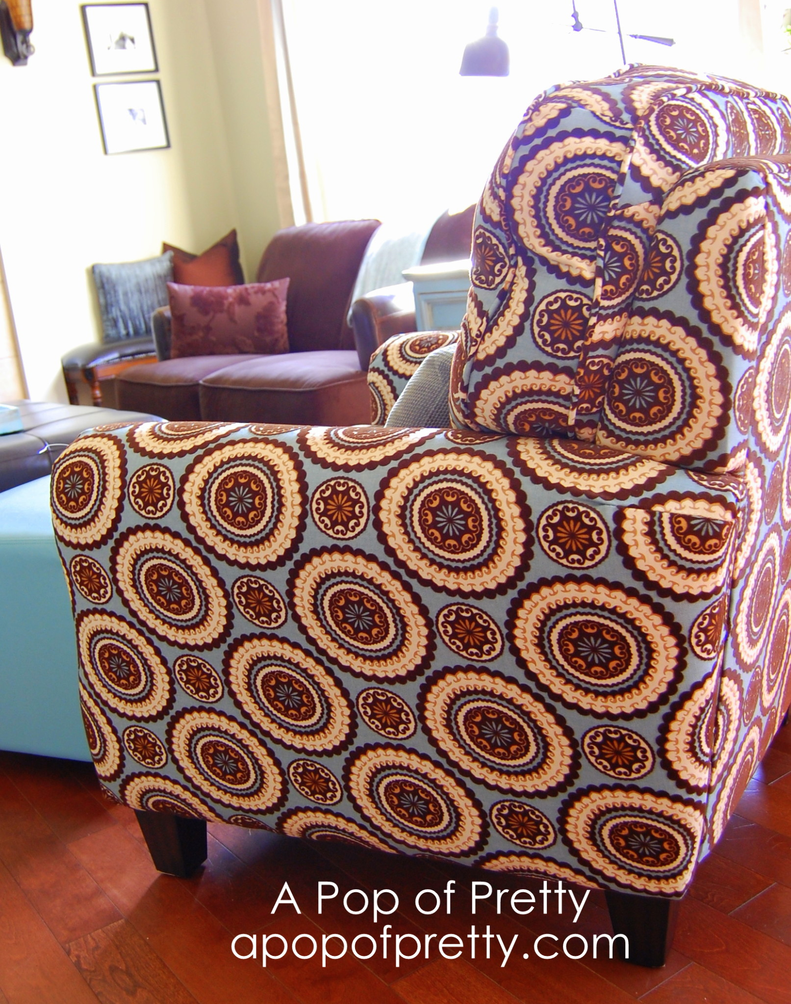 Every room needs a statement chair!