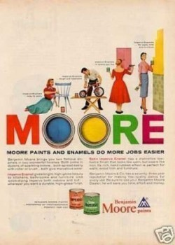 Three Vintage Paint Ads for Dutch Boy and Benjamin Moore! (Ads 18, 19 and 20 of 31)