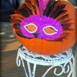 Halloween decorating ideas - no carve pumpkin