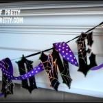 Halloween Mantel bunting