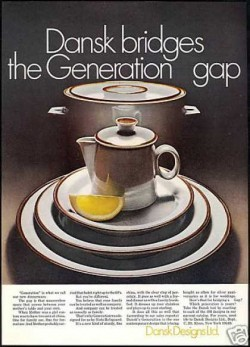Pretty 1971 Dansk Dinnerware – some things are simply timeless!  (Ad 13 of 31)