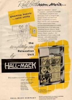 Vintage Home Decor Ad (8 of 31): Hall-Mack Concealed Bathroom Accessories