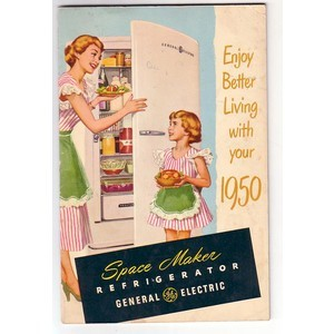 Vintage Home Decor Ad (10 of 31): Wholesome 1956 Westinghouse Fridge Ad