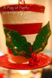 Pier One Dr Seuss Hat Christmas Decoration