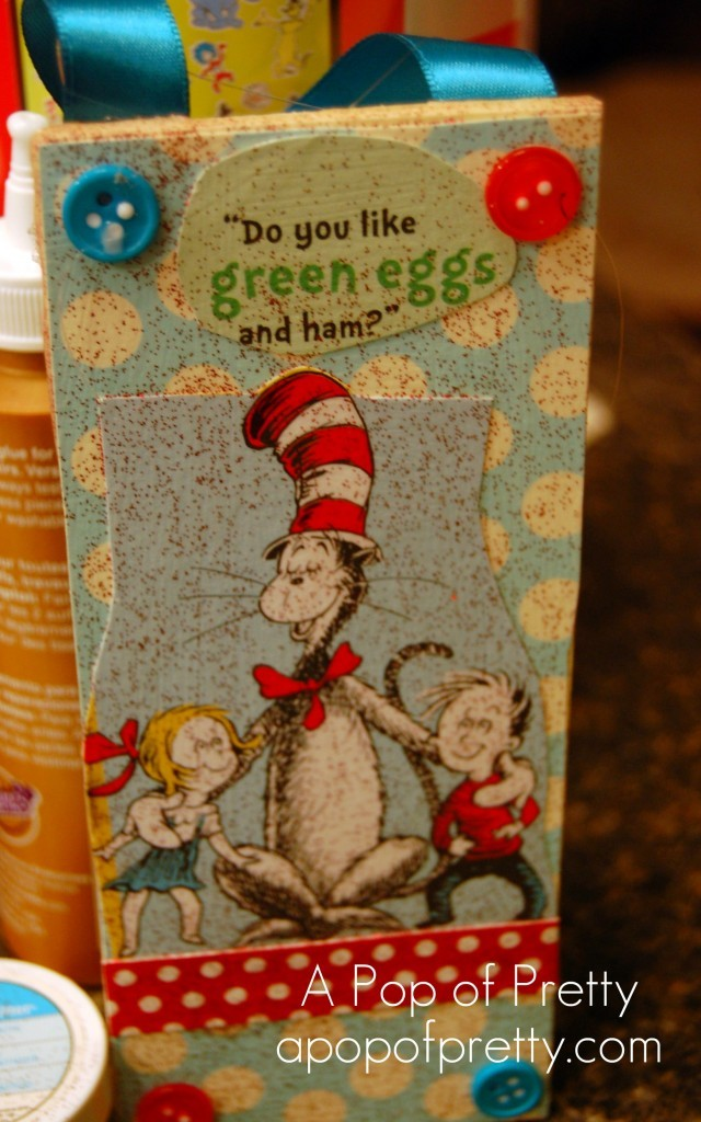 Cat in the Hat Christmas Tree Ornament