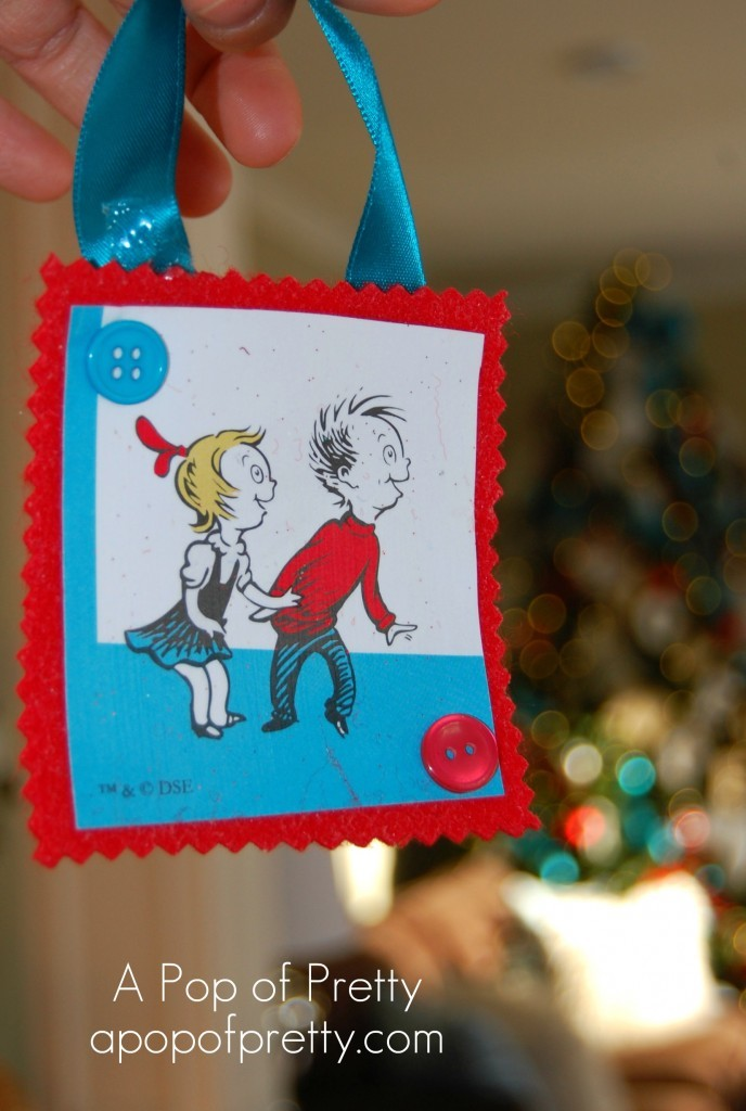 Dr Seuss Christmas Ornaments