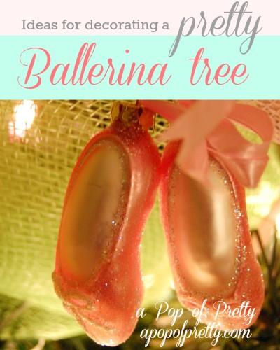 Ballerina Christmas Tree Pin It