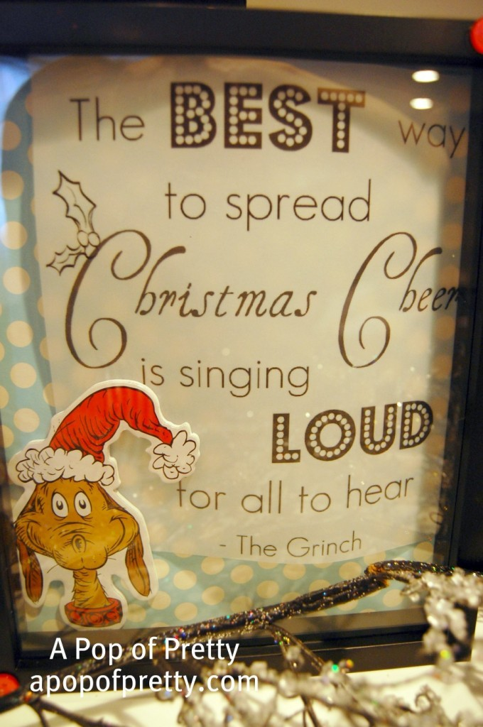 Dr Seuss Christmas Quote from Grinch