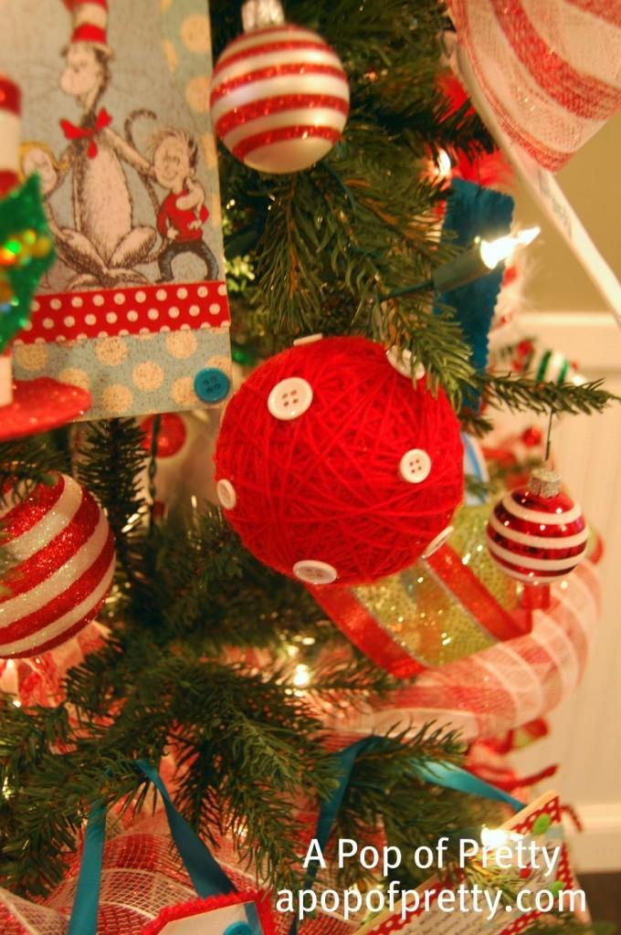 DIY Dr. Seuss Christmas Tree