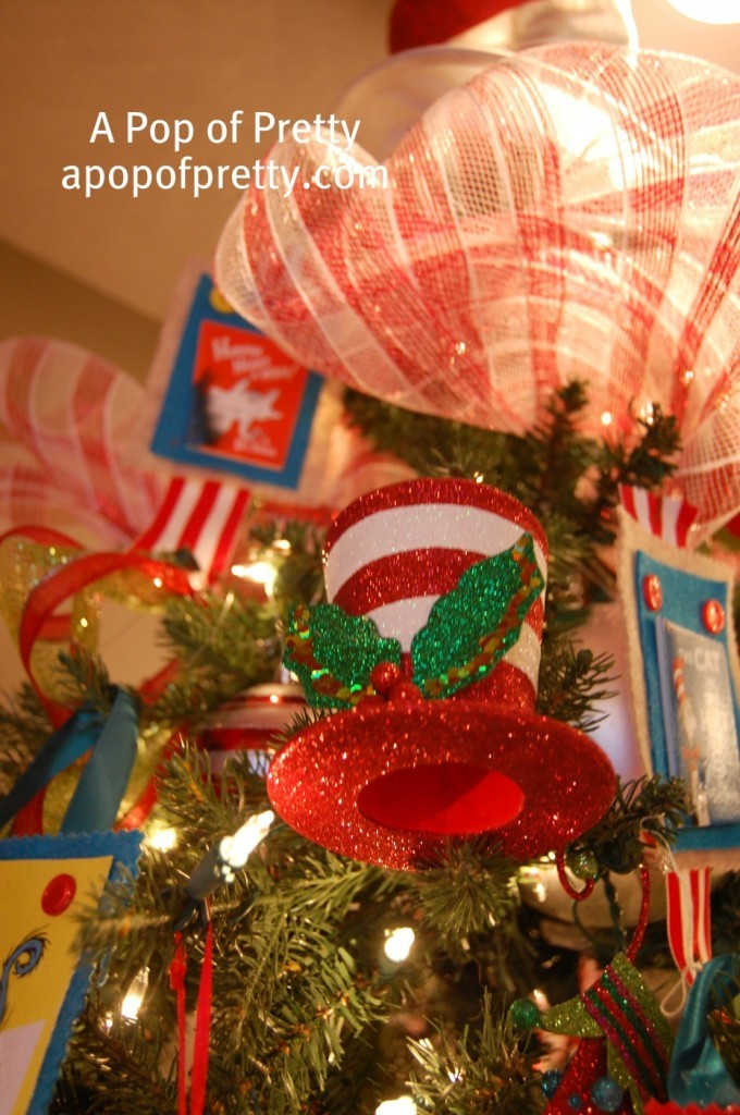 Dr. Seuss Christmas Tree Decor