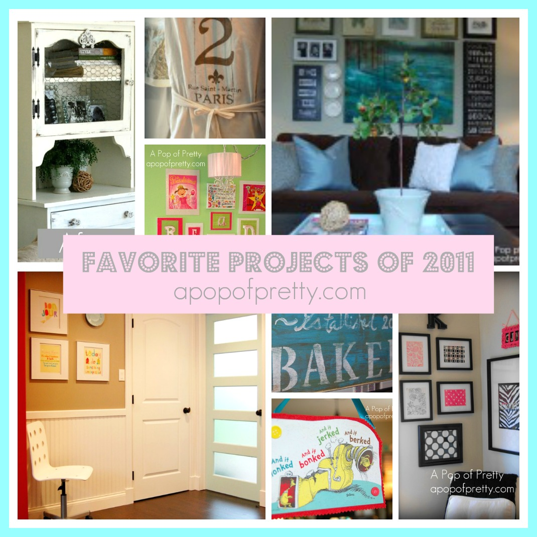 Bloggy Year in Review: My Favorite Projects in 2011