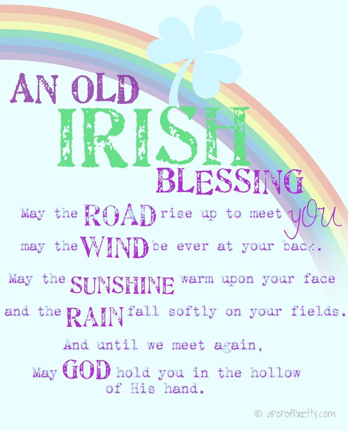 St. Patrick's Day Printables (Free)