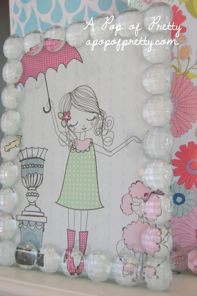 scrapbook paper art diy decorating