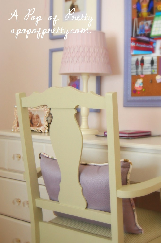 little girl room purple and green