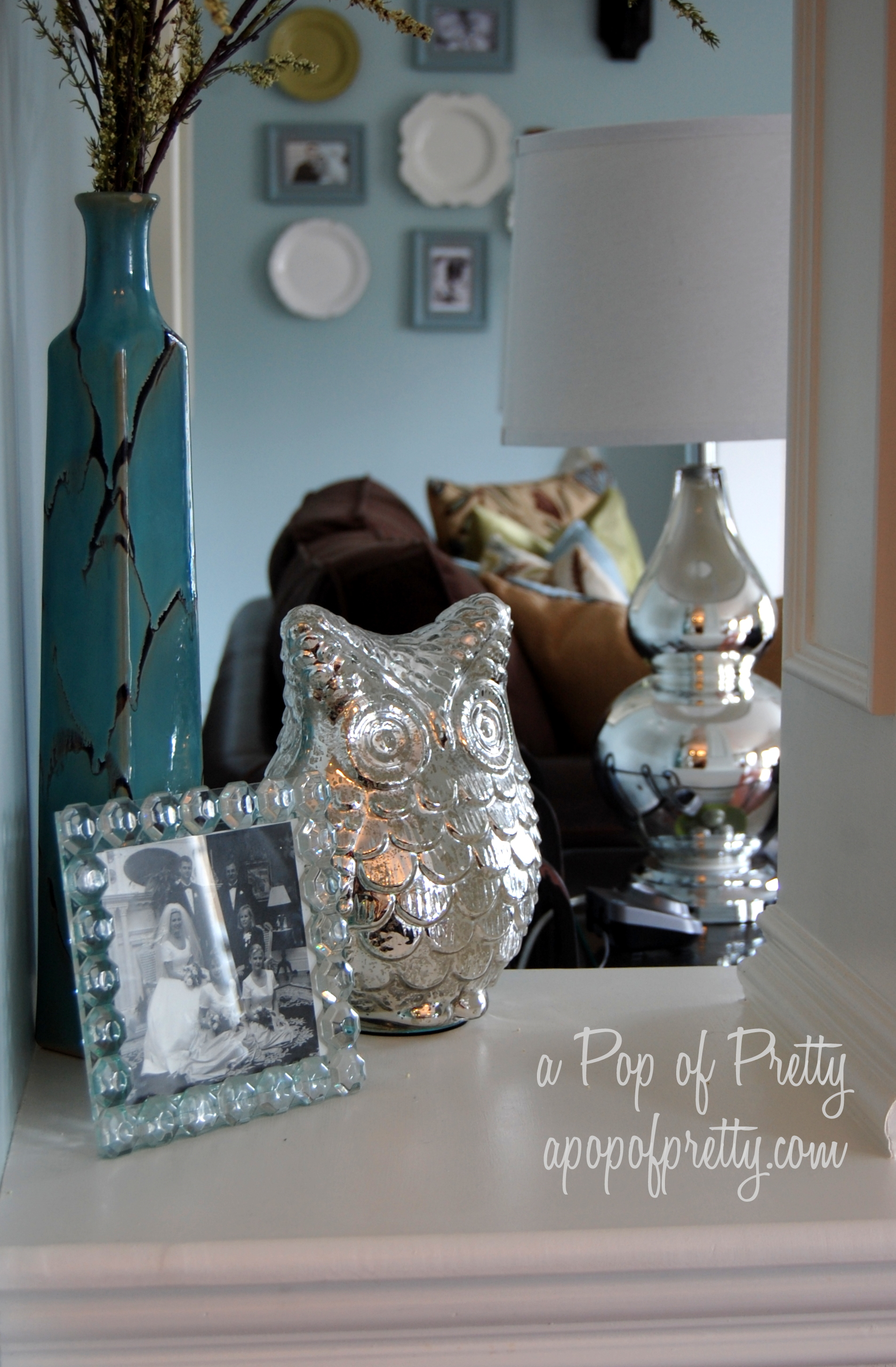 Owl home decor a pop of pretty blog canadian home for Home decor canada