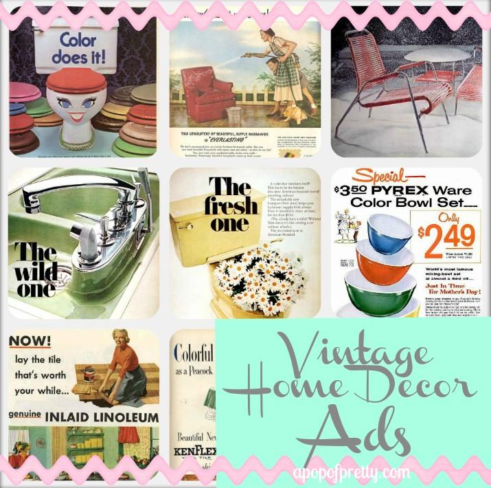 Home Decor Vintage Ads Pin it