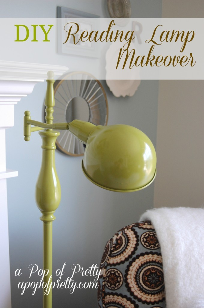 DIY Reading Lamp Makeover Pin It