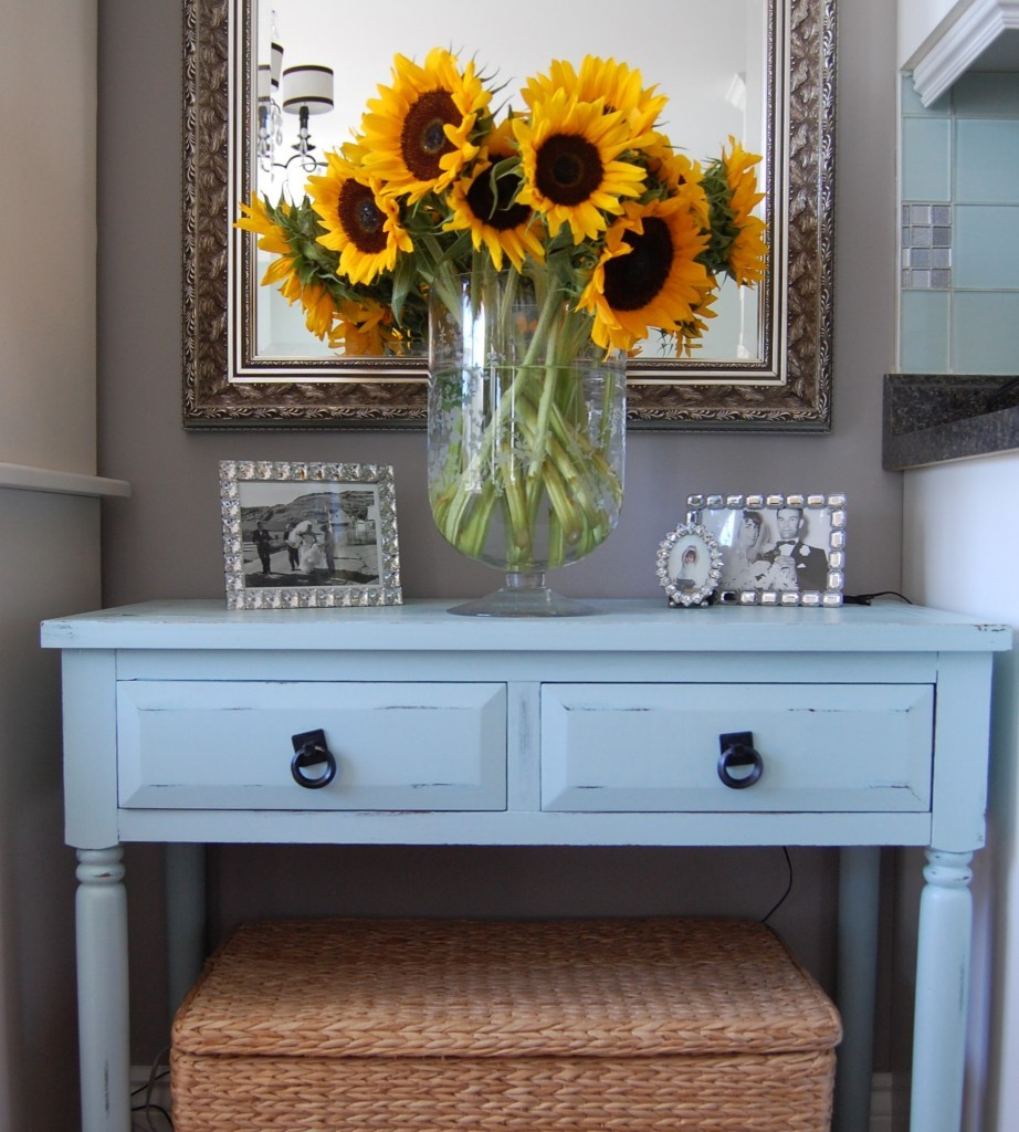 Fall Decorating With Sunflowers A Pop Of Pretty Blog