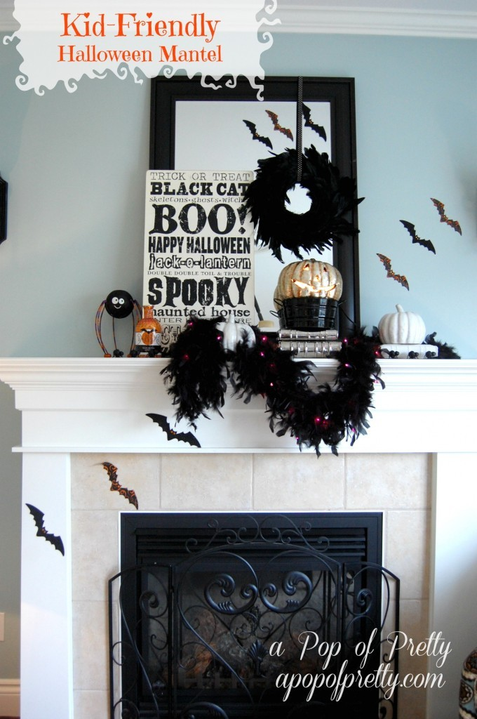 Halloween Mantel Pin it