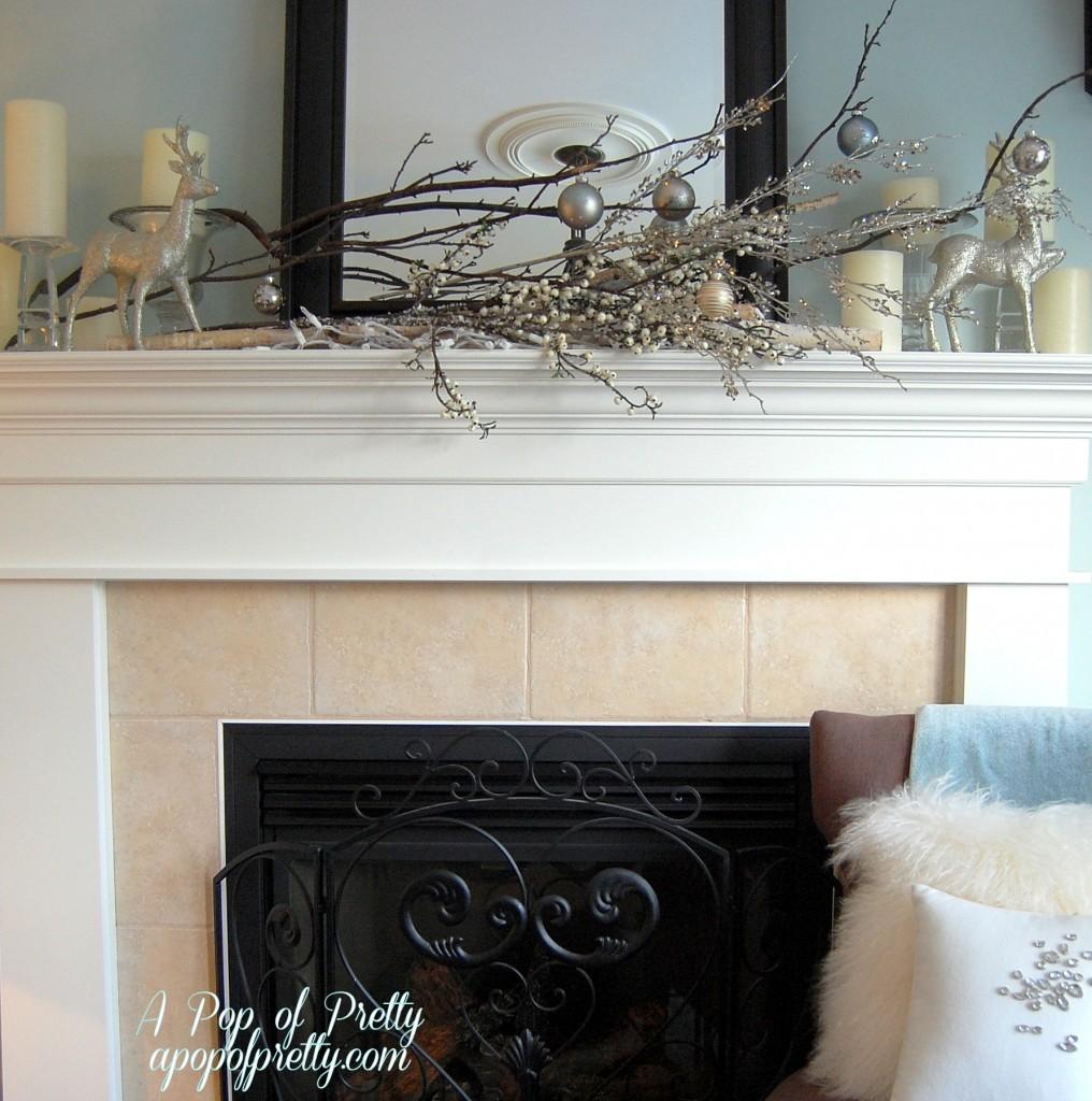 Winter Mantel Decorating Ideas