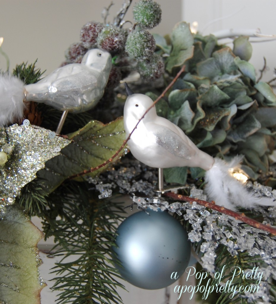Cottage Christmas Vignette