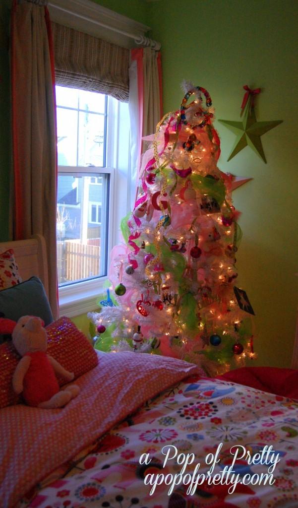 Pink Girly Christmas Tree