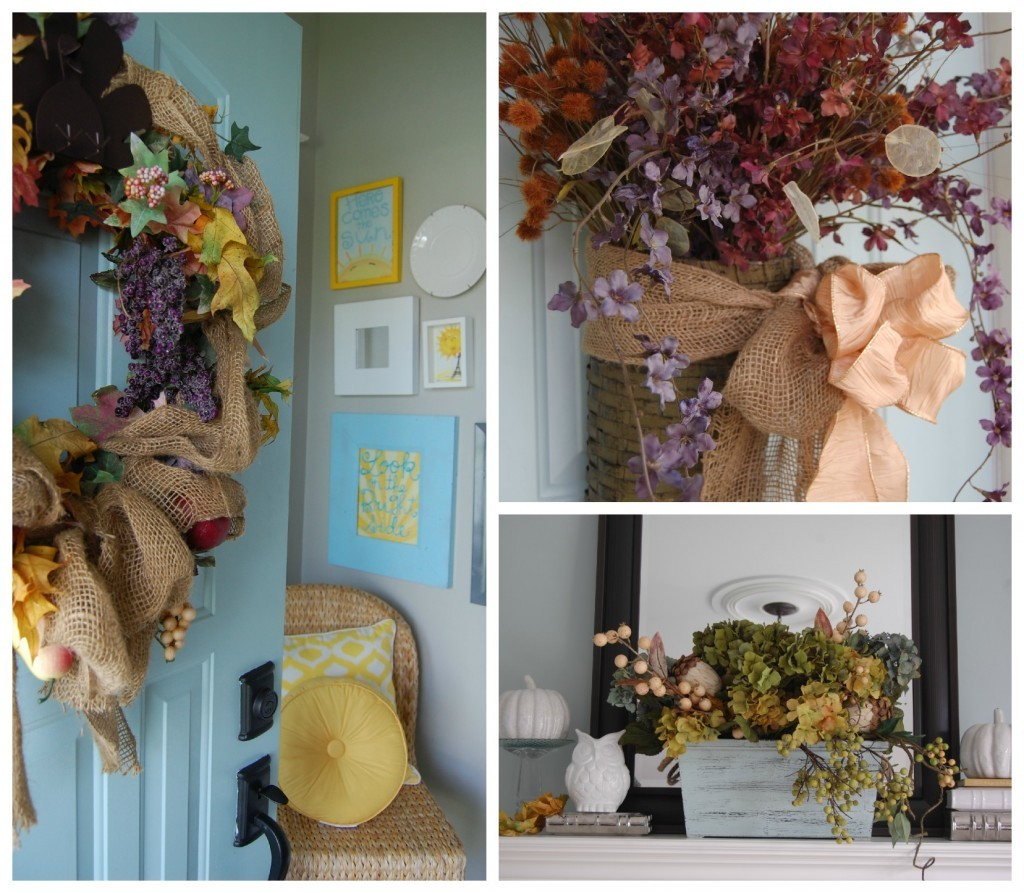 diy decorating for Fall