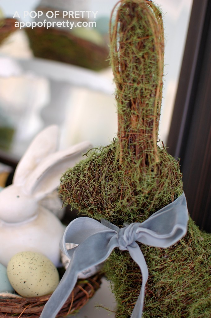 HomeSense mossy Easter bunny