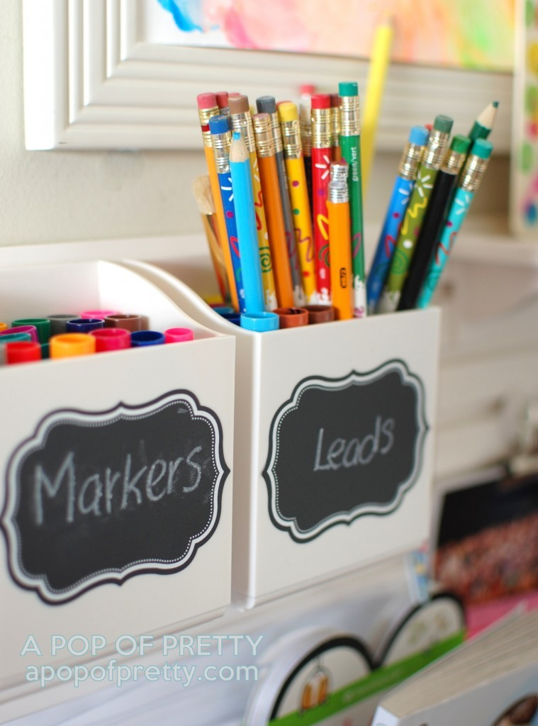 Martha Stewart art station - caddy for markers