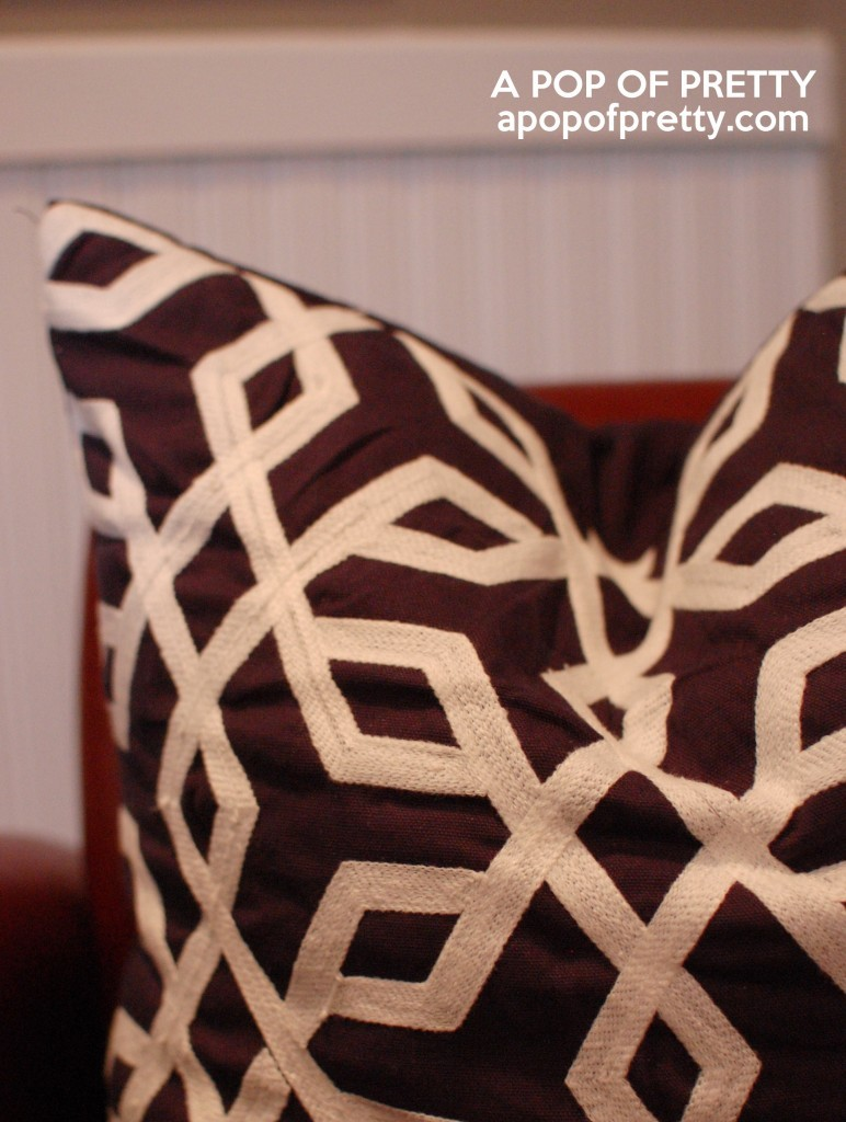 geometric prints - toss cushion - HomeSense