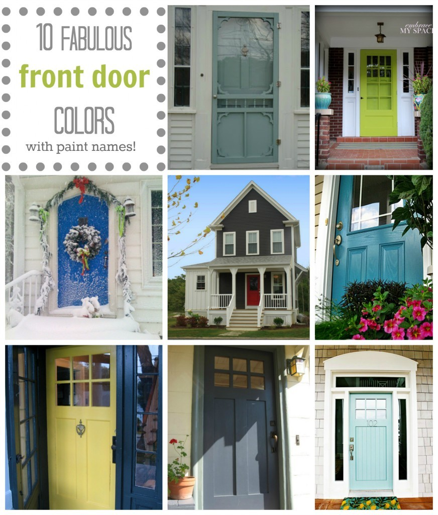 Front Door Collage