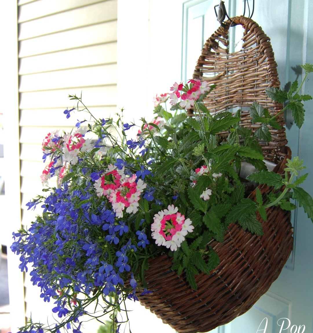Container Gardening Planter Ideas: 10 Fun Ideas For Flowers!   A Pop Of  Pretty Blog (Canadian Home Decorating Blog   St. Johnu0027s, Canada)