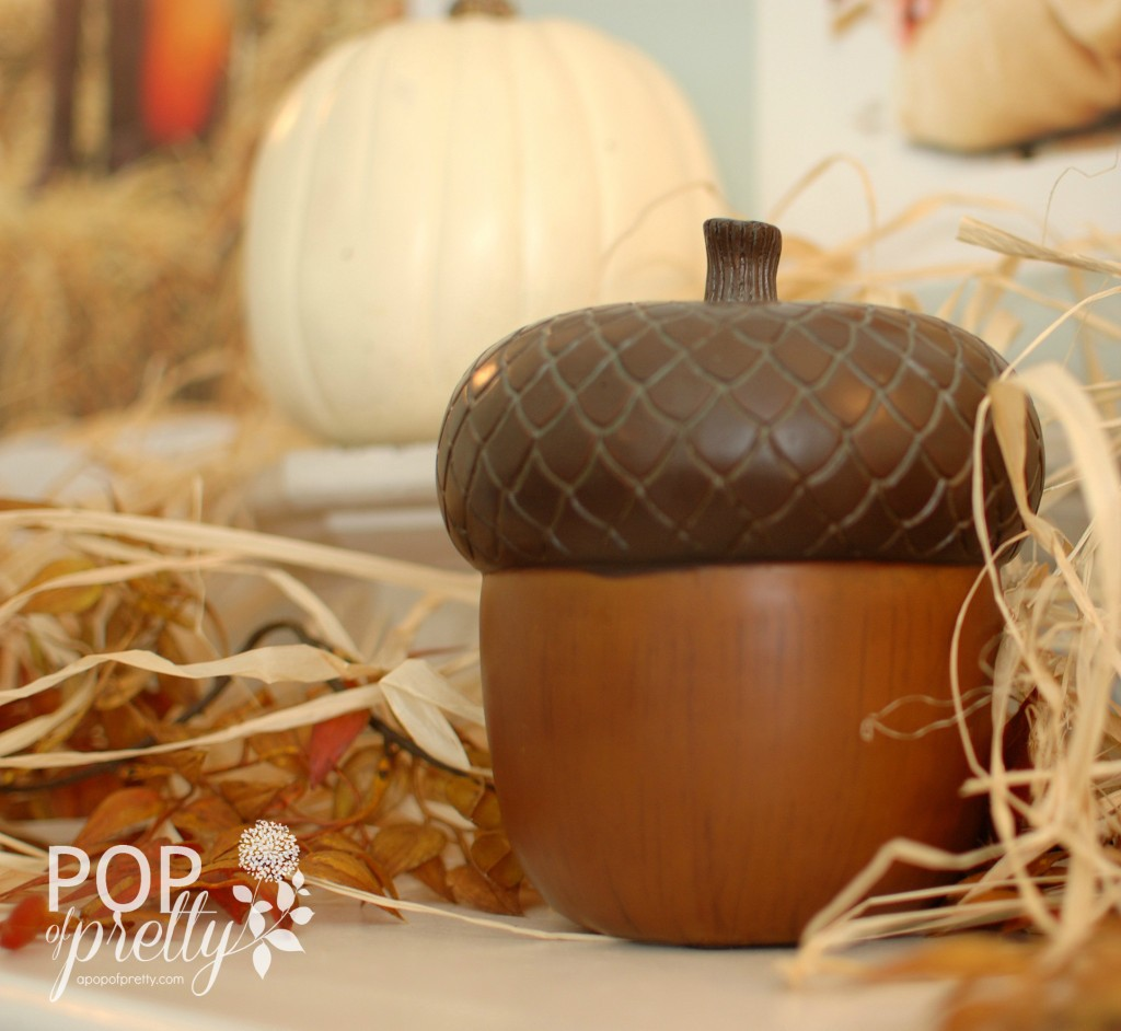 Fall decor - acorn