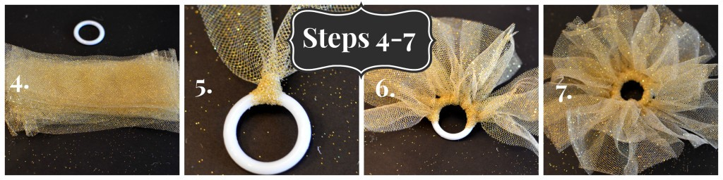 hostess gift tutorial - step 4 to 7
