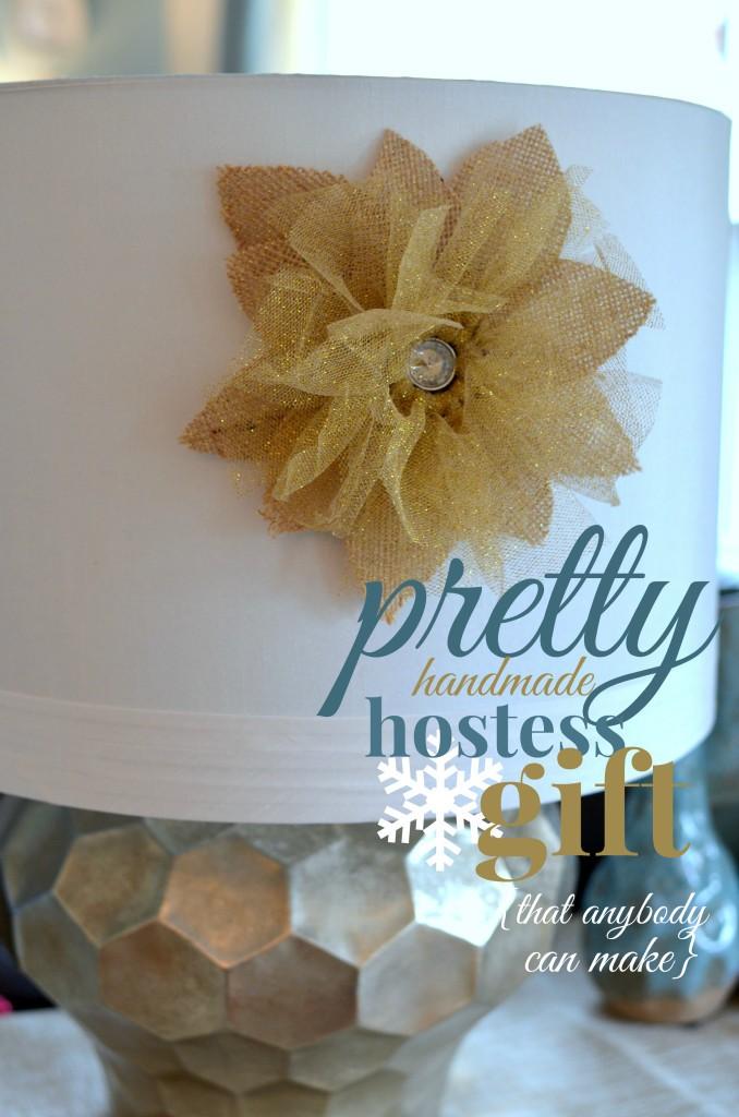 Handmade hostess gift