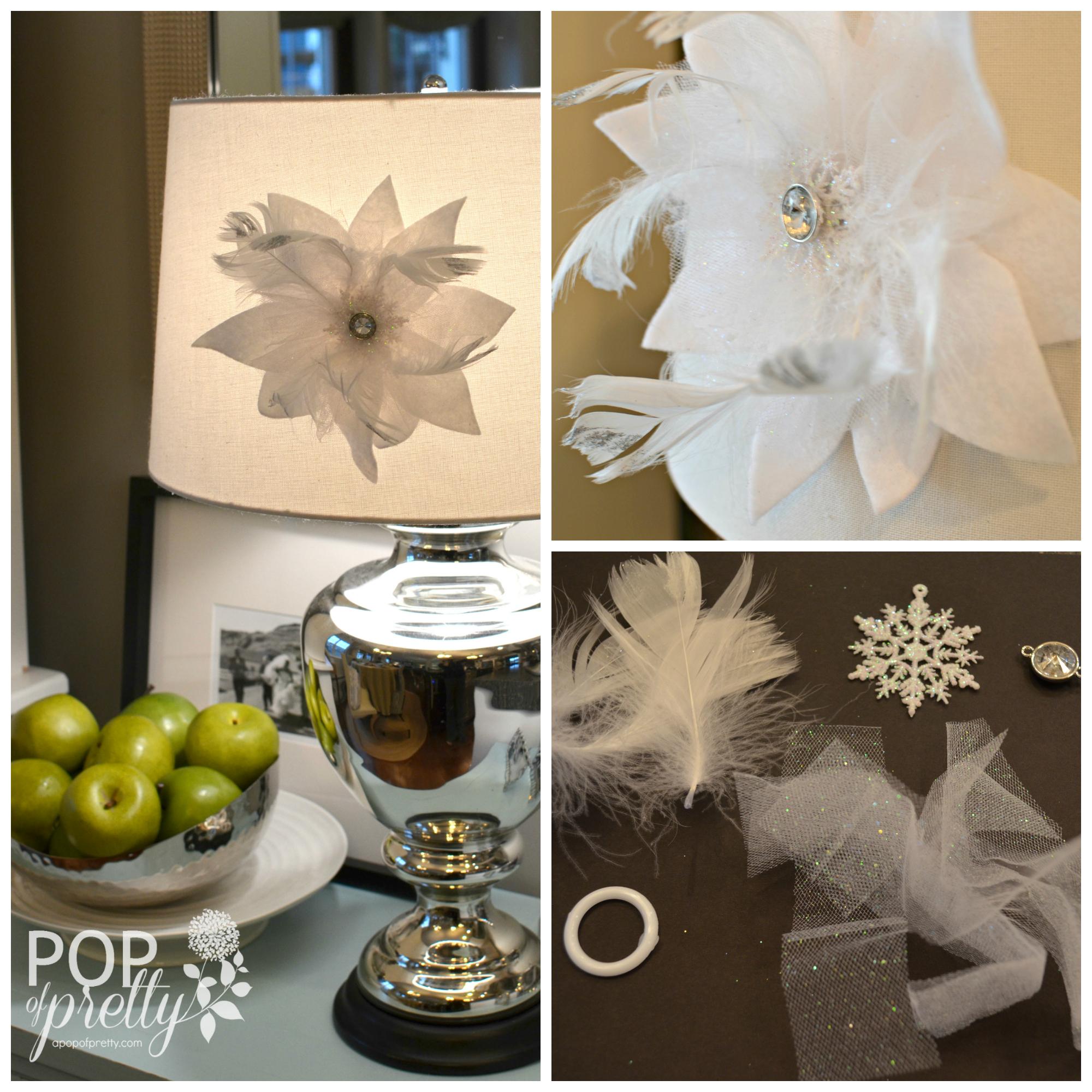 The Etsy.com Blog & Me : DIY Hostess Gift Tutorial {Lampshade Flower}