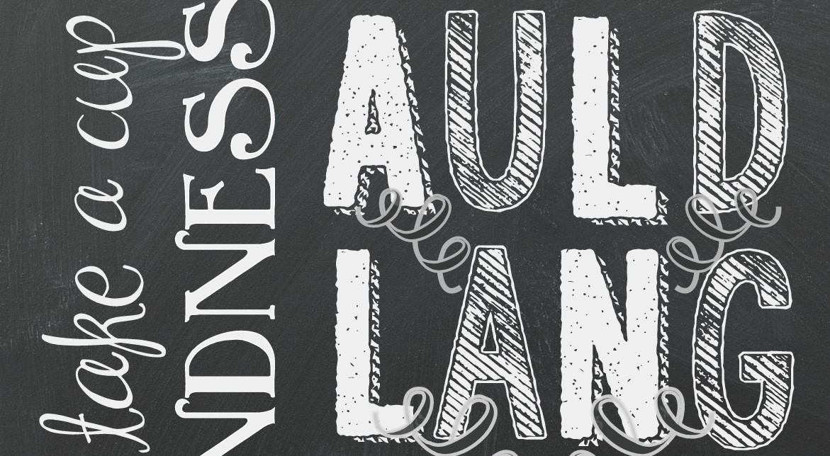 """""""Auld Lang Syne"""" New Years Printable (Happy New Year!)"""