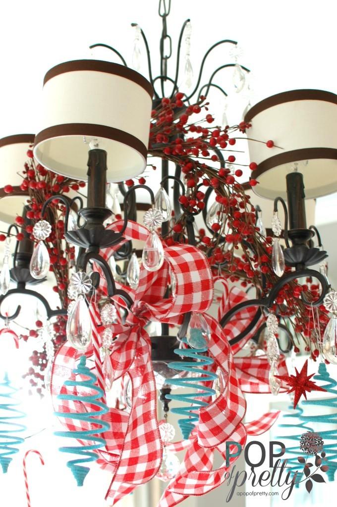 Christmas decor - chandelier